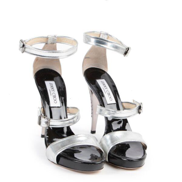 Jimmy Choo Silver Pumps - Size 40