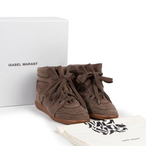 Isabel Marant Brown Sneakers
