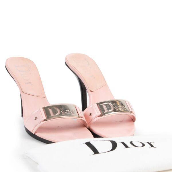 Christian Dior Pink Pumps