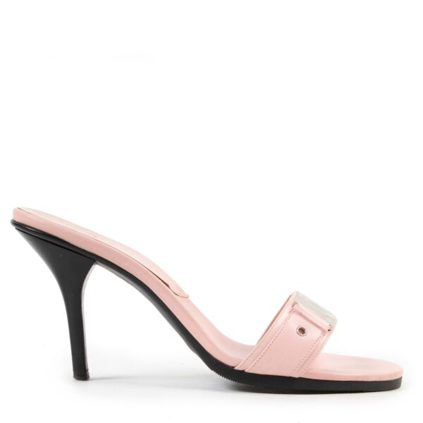 Shop safe online authentic second hand Christian Dior Pink Sandals in Size 38,5.