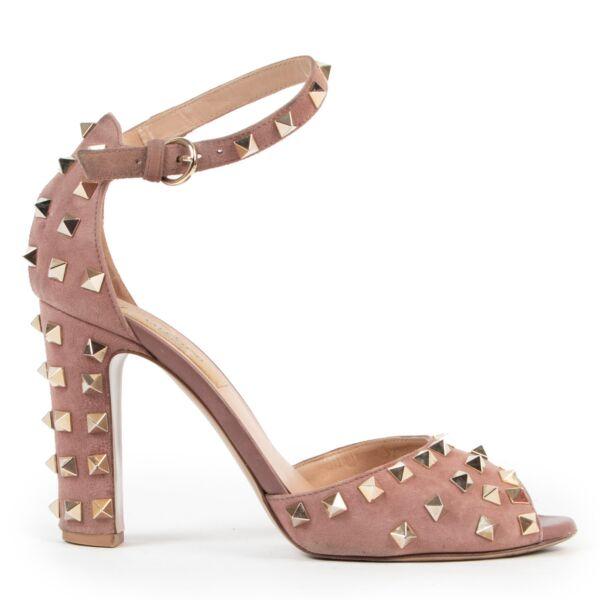 Valentino Garavani Rockstud Pink Pumps - size 38