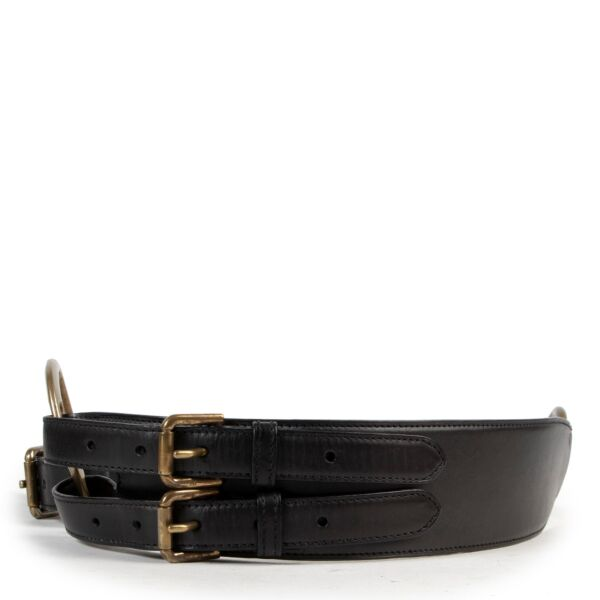 Ralph Lauren Black Belt - size S