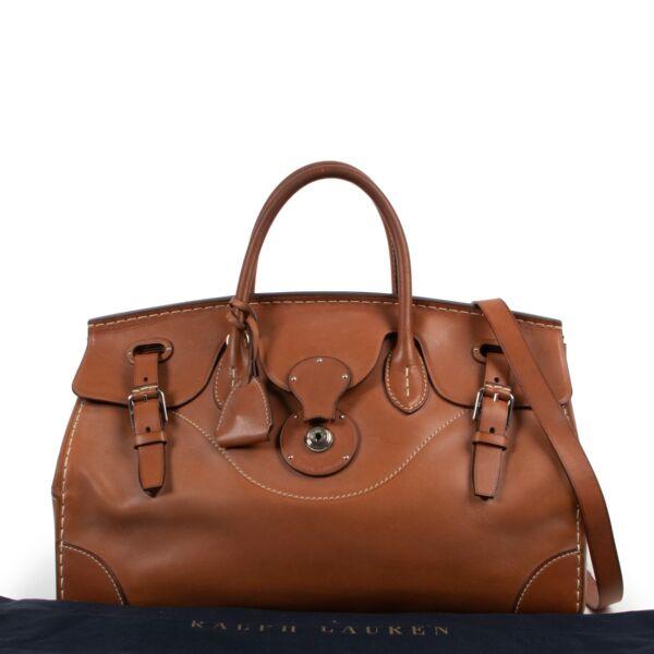 Ralph Lauren Brown Ricky 33 Bag
