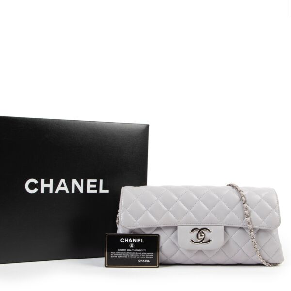 Chanel Grey Classic Flap Bag