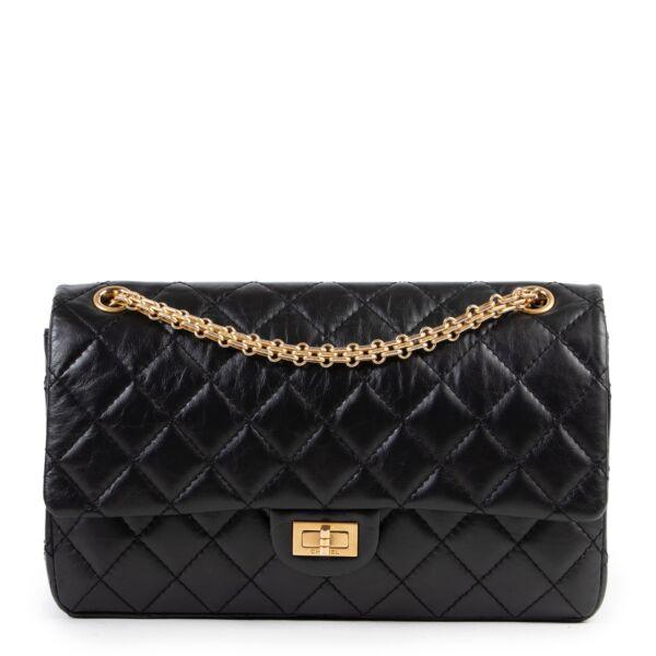 Chanel Black Quilted Calfskin Reissue 226 Shoulder Bag