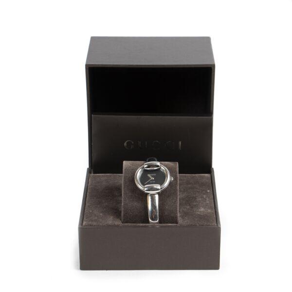 Authentieke tweedehands Gucci horloge juiste prijs veilig online winkelen LabelLOV webshop luxe merken Antwerpen België mode fashion