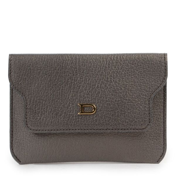 Delvaux Grey Leather Wallet at Labellov online or in store available for a reasonable price and in good condition. Get them now!