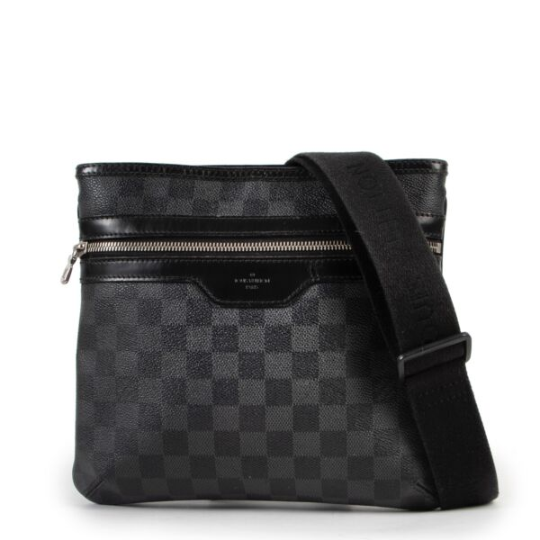 Louis Vuitton Damier Graphite Thomas Crossbody Bag  at Labellov online or in store available for a reasonable price and in good condition. Get them now!