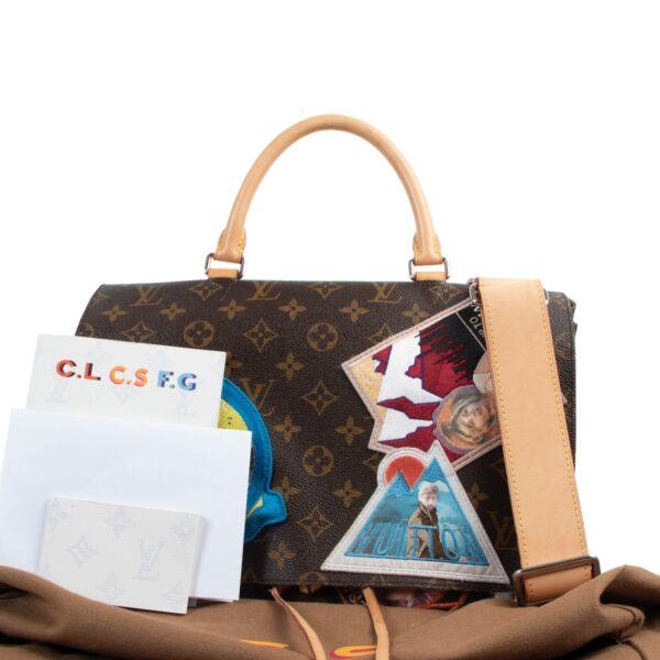 Louis Vuitton Monogram Limited Edition Cindy Sherman Messenger Shoulder Bag