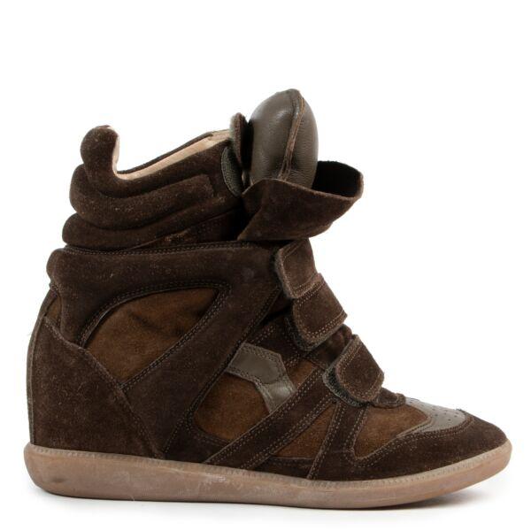 Isabel Marant Brown Beckett Sneakers