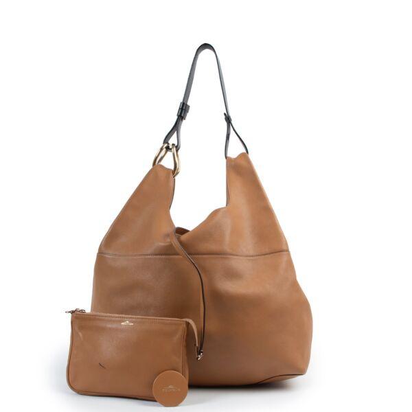 Delvaux Camel Brown Givry With Me Shoulder bag