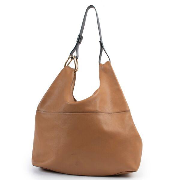 shop safe online Delvaux Brown Givry With Me Shoulder bag