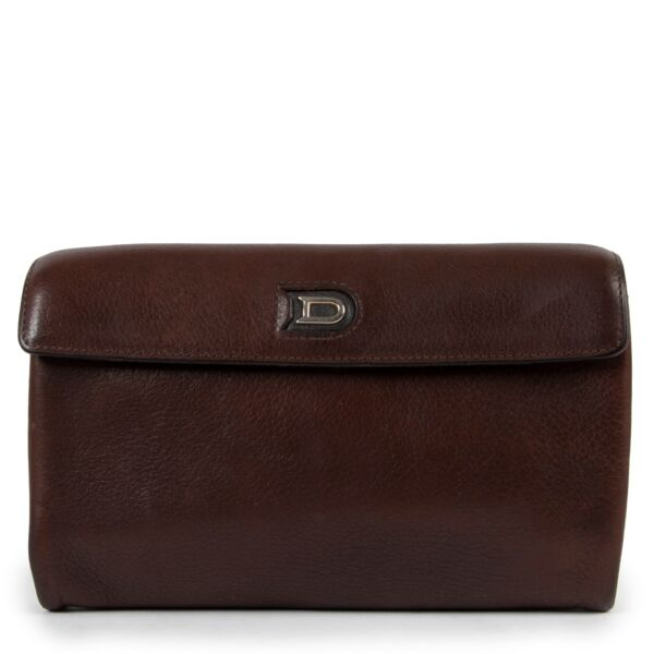 Delvaux Brown Leather Wallet Buy this gorgeous piece here safely!