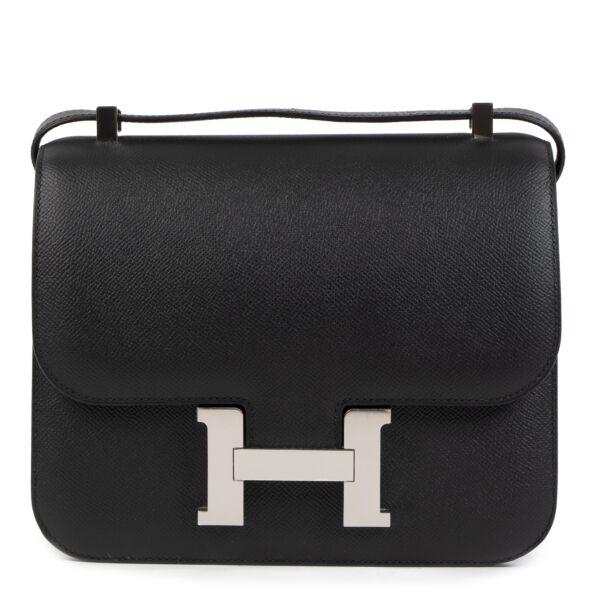 Hermès Constance III 24 Veau Epsom Black aan de beste prijs bij Labellov