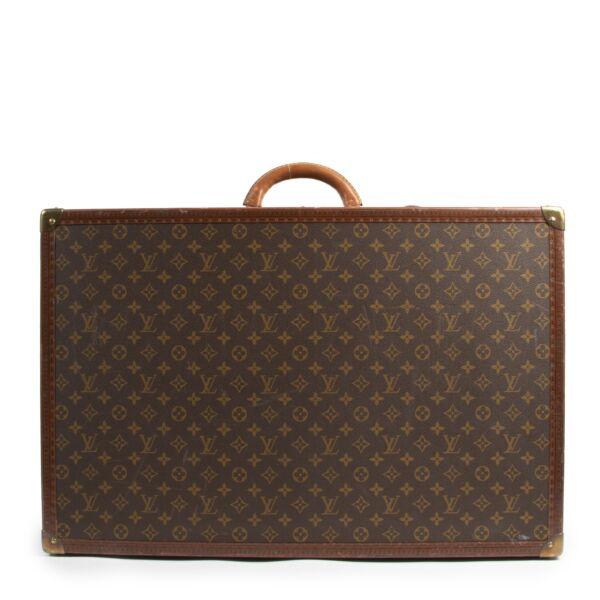 Authentique seconde-main vintage Louis Vuitton Alzer 80 Suitcase achète en ligne webshop LabelLOV