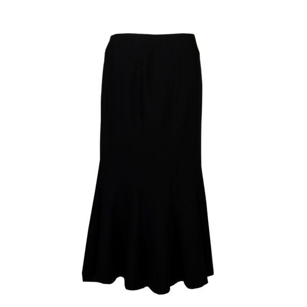 Chanel Black Skirt