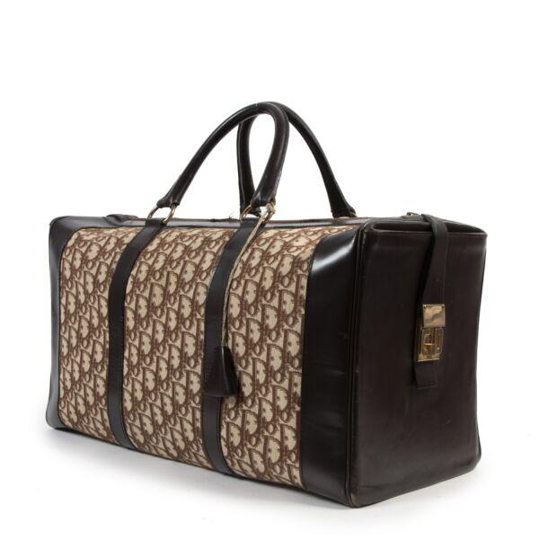 Christian Dior Monogram Large Boston Travel Bag