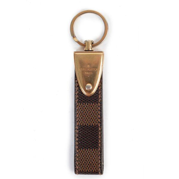 Louis Vuitton Damier Ebene Keychain