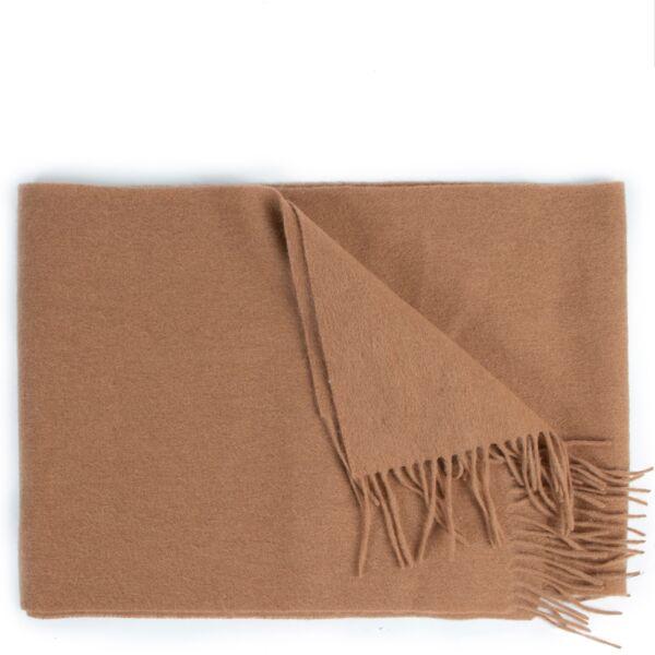 100% Wollen bruine Missoni sjaal tweedehands.
