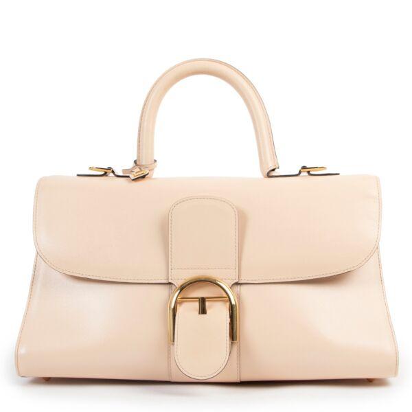 Delvaux Pink Leather East West Brillant Bag