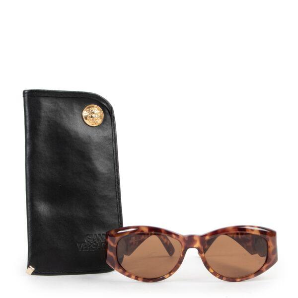 Versace Gold Sunglasses