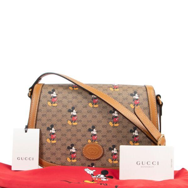 Gucci x Disney Mickey Monogram Crossbody Bag