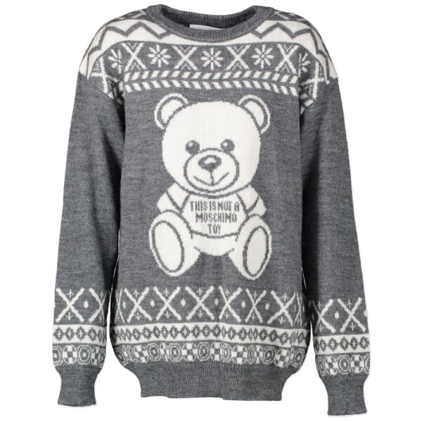 Moschino Couture Bear Sweater for the best price at labellov secondhand luxury