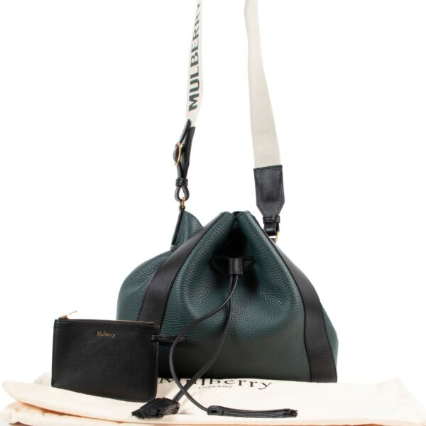 Mulberry Small Millie Green Shoulder Bag