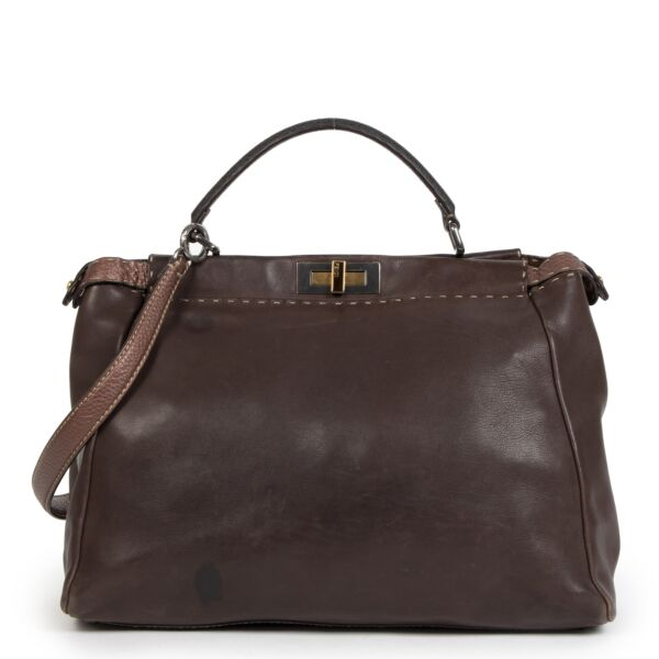 Buy authentic Fendi Peekaboo bags at LabelLOV at the right price. Shop safe and secure online at labelLOV Antwerp.