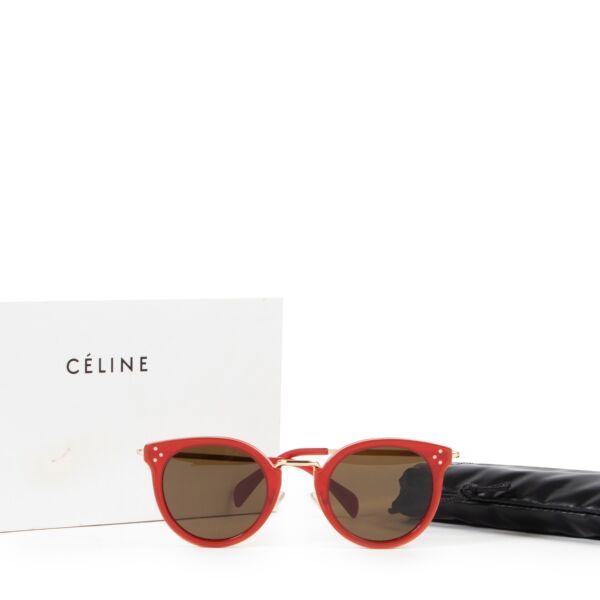 Céline Red Sunglasses