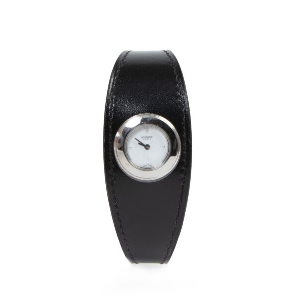 Buy 100% authentic Hermès Faubourg Manchette Watch for the best price at Labellov secondhand luxury