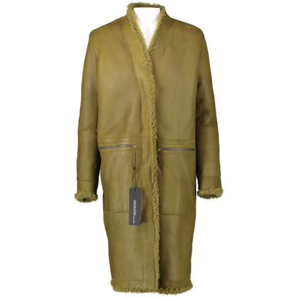 Authentic secondhand 32Paradis coat designer luxury vintage webshop fashion safe secure online shopping