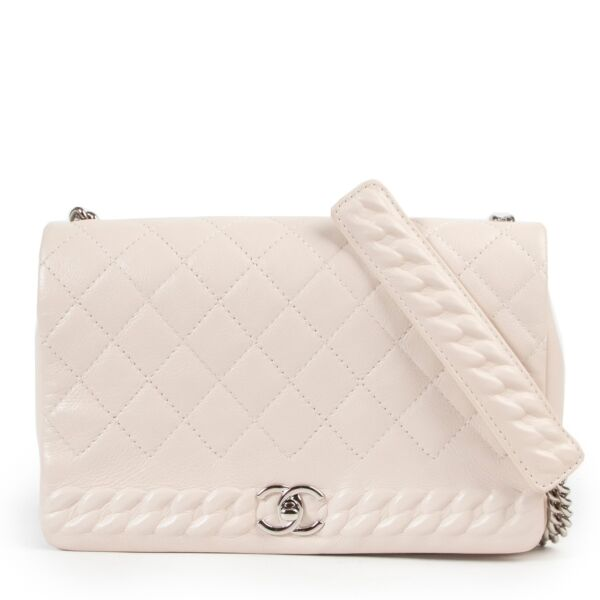Chanel Cream Flap Bag