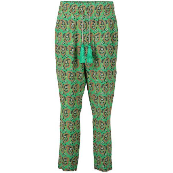 Etro Floral Wide Leg Pants - Size IT 42