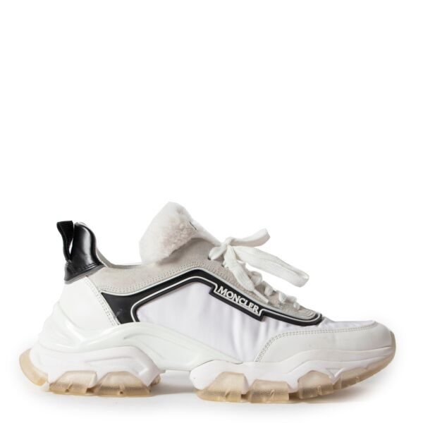 Moncler White Sneakers - size 38