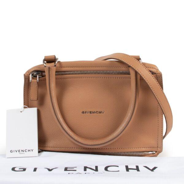 Givenchy Camel Pandora Shoulderbag