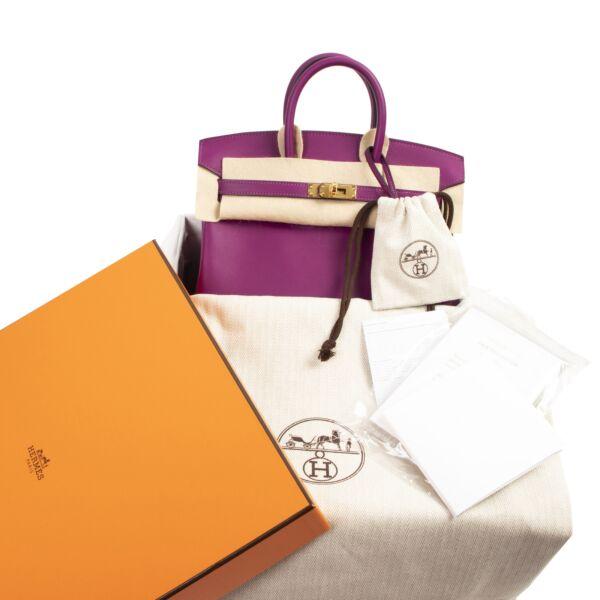 Hermès Birkin 25 Anemone Swift GHW