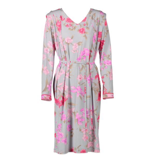 Leonard Fuchsia Floral Dress - Size 44