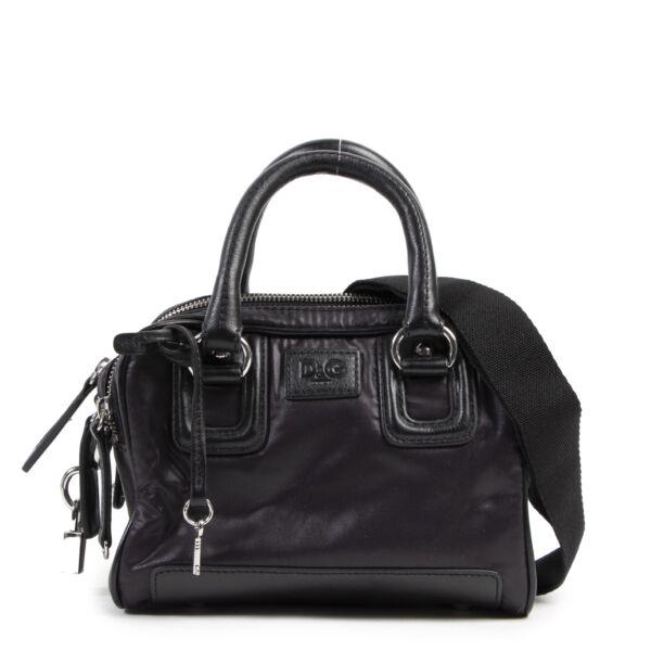 Authentieke Tweedehands Dolce & Gabbana Junior Black Mini Bag designer bags fashion luxury vintage webshop safe secure online shopping