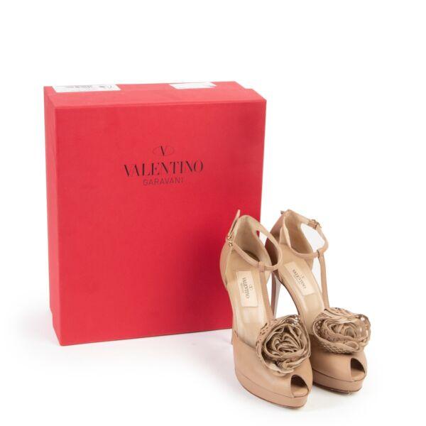 Valentino Scarpe Camel, Nude Pumps - Size 36