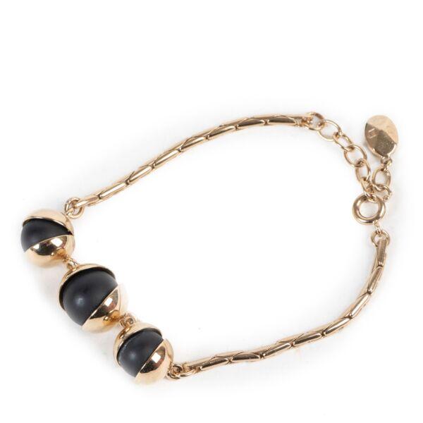 Dior Black Pearl Bracelet