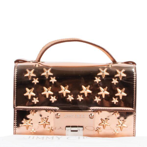 Jimmy Choo Shiny Pink Crossbody Bag