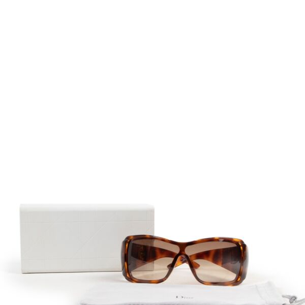 Christian Dior Tortoise Brown Sunglasses