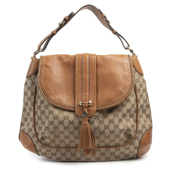 Gucci Monogram Marrakech Hobo Bag for the best price at Labellov secondhand luxury