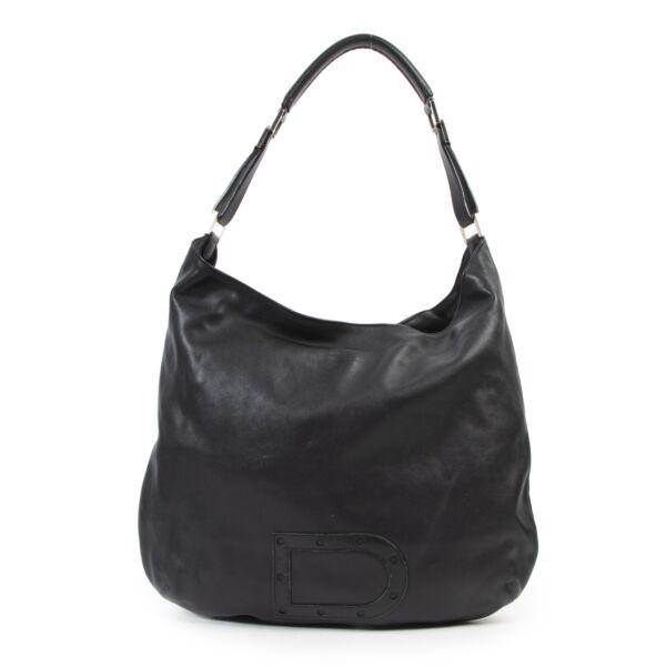 Delvaux Black Le Louise Tote Shoulder Bag