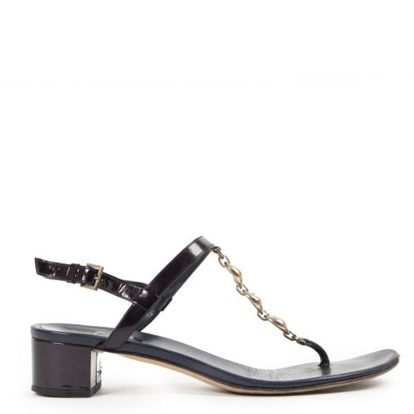 Koop tweedehands Gucci schoenen bij LabelLOV Antwerpen.
