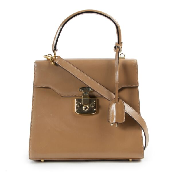 Gucci Brown Top Handle Bag