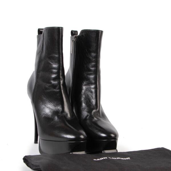Saint Laurent Black Boots - Size 37,5