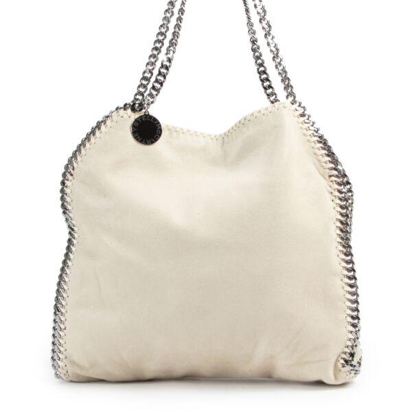 Stella McCartney Beige Falabella Shoulder Bag aan de beste prijs bij Labellov