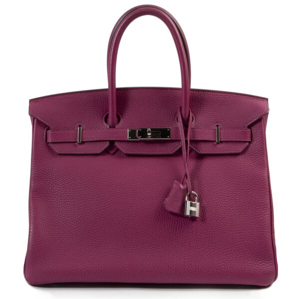 Hermès Birkin 35 Veau Togo Tosca PHW for the best price at Labellov secondhand